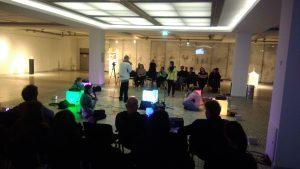 live performance berliner kunsthochschule YOU ARE deutschlandfunk