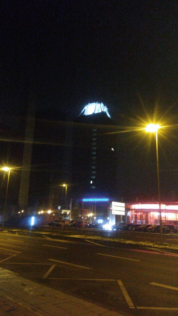 deutschlandfunk funkturm nacht