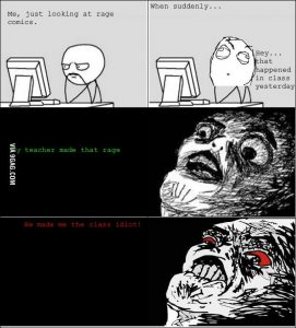 Rage Face Comic meme